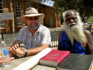 Paul Eckert & Rev Peter Nyaningu;