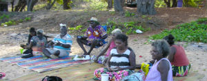 In December, 2011, Yolŋu from Galiwin'ku & Yirrkala met on Shady Beach to discuss ministry, translation, and Scripture in Use.