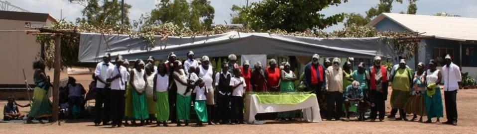 Wangurri Gospel of Mark dedication, North East Arnhem Land.